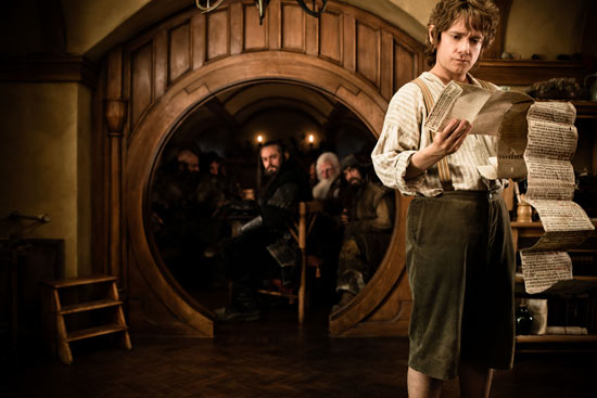 Sherlock actor Martin Freeman stars as Bilbo Baggins.