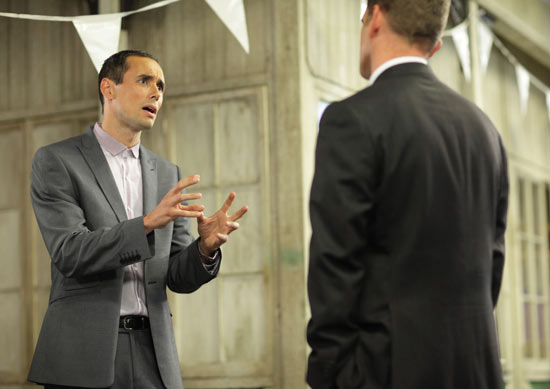 EastEnders - Michael Moon (Steve John Shepherd) and Jack Branning (Scott Maslen)
