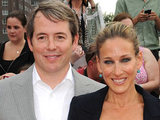 Matthew Broderick and Sarah Jessica Parker at the 'Harry Potter and The Deathly Hallows Part 2' New York Premiere