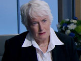 Margaret Mountford in The Apprentice final