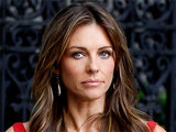 Elizabeth Hurley shoots scenes for a guest-starring role on 'Gossip Girl' in New York City