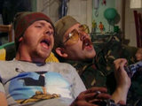 Simon Pegg and Nick Frost in 'Spaced'