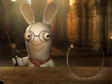 Watch Raving Rabbids attend Harry Potter's Hogwarts in this spoof video.