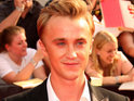 Tom Felton reveals that he once had a crush on his Harry Potter co-star Helena Bonham Carter.
