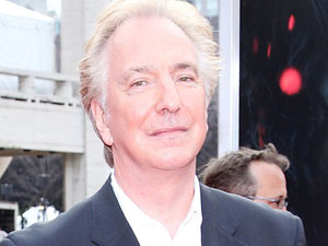 Alan Rickman at the 'Harry Potter and The Deathly Hallows Part 2' New York Premiere