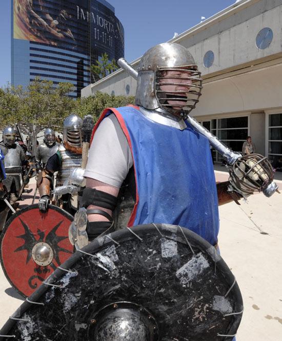 Comic-Con Sword Fight