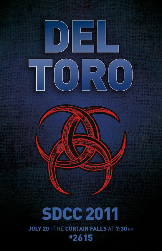 Del Toro Comic-Con teaser