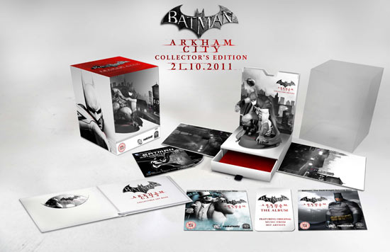 Arkham City Collector's Edition