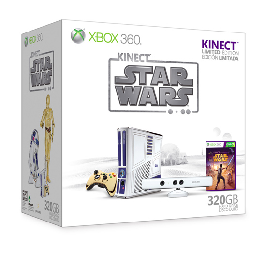 Kinect Star Wars Xbox 360 bundle