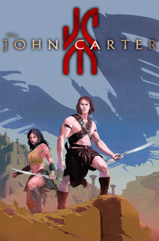 'John Carter: World of Mars' cover