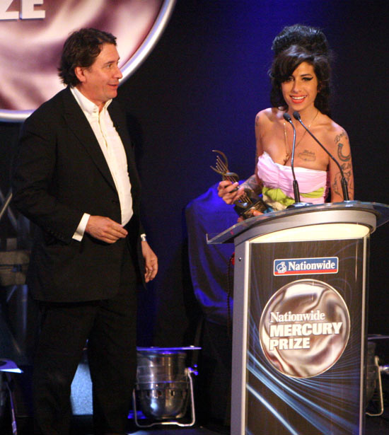 Amy Winehouse Mercury Prize