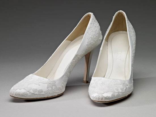 The Duchess of Cambridge's wedding dress - shoes