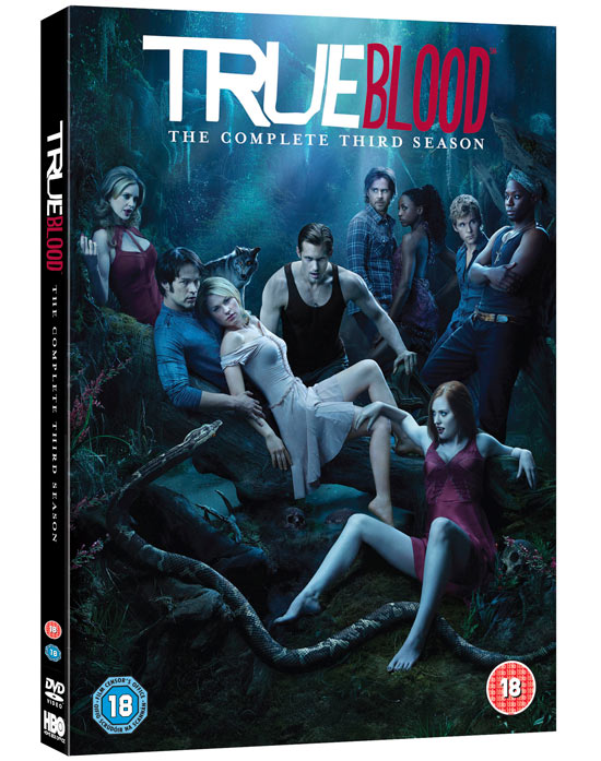 'True Blood' Season 3 DVD Pack shot