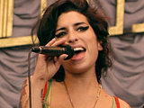 Amy Winehouse performs at Glastonbury