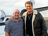 Same Name: David Hasselhoff trades places with David Haselhoff Junior