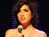 Amy Winehouse performing during the Nationwide Mercury Music Prize at the Grosvenor House Hotel, 2007.