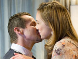 Toadie Rebecchi and Sonya Mitchell from Neighbours (played by Ryan Moloney and Eve Morey)