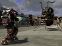 Earth Defense Force 2025 will be published by Namco Bandai in the West.