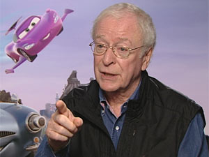 Michael Caine in DS Cars 2 interview