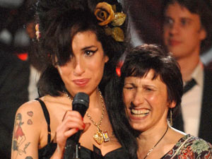 Amy Winehouse at the Grammys