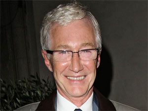 Paul O&#39;Grady and Cilla Black leave Scotts restaurant in Mayfair, London
