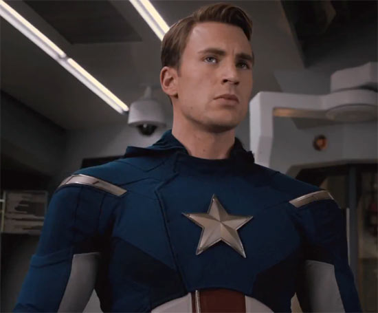 Chris Evans Captain America Avengers