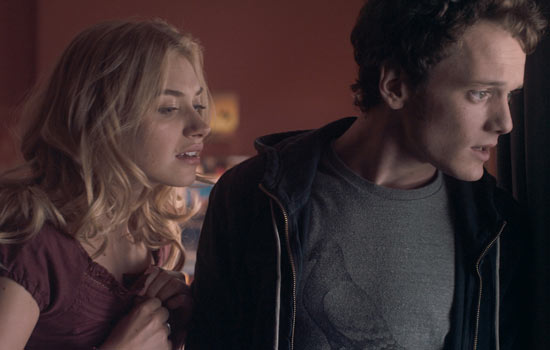 Imogen Poots and Anton Yelchin