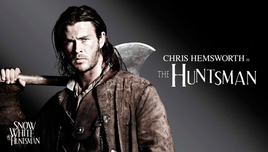 Chris Hemsworth stars as the Huntsman