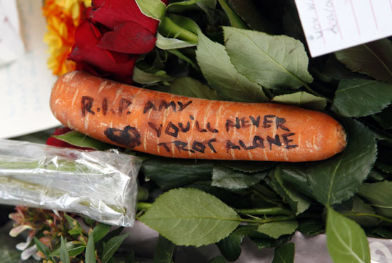 A message on a carrot