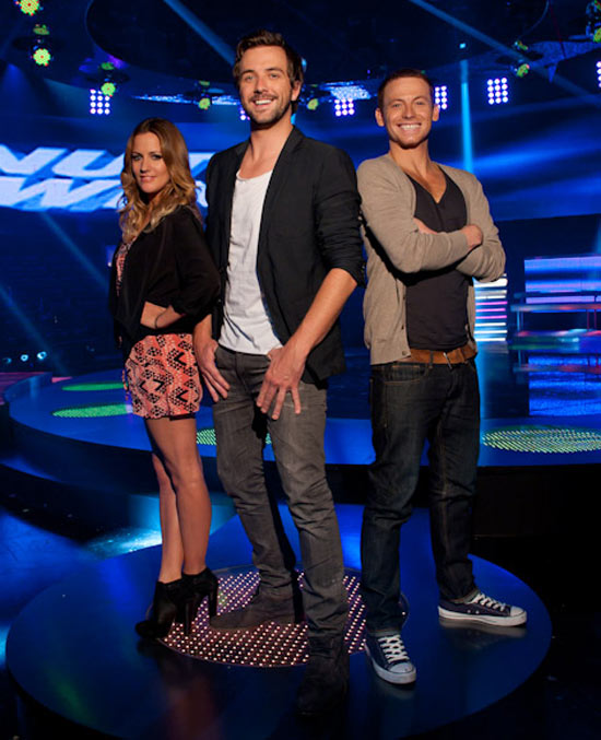 Carolin Flack, Darren McMullen and Joe Swash from Minute To Minute