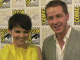 Ginnifer Goodwin and Joshua Dallas at Comic-Con