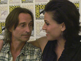 Robert Carlyle and Lana Parrilla at Comic-Con