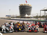 All drivers and cars of the Formula 1 Season 2010