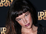 Paz de la Huerta at the New York Premiere of &#39;The Devil&#39;s Double&#39;