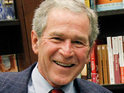 Story about George W Bush voting for Democrat candidate Barack Obama is fake.