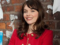 Kate Ford explains why Tracy Barlow starts dating Ryan Connor.