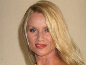 Ex-Desperate Housewife Nicollette Sheridan at Hallmark Channel's press tour, Los Angeles, California