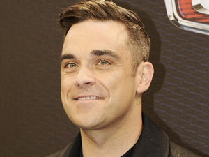 Robbie Williams at the premiere of 'Cars 2' in Munich, Germany