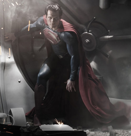 Henry Cavill Superman first picture