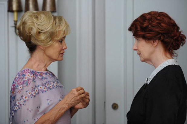 Jessica Lange as Constance and Frances Conroy as Moira