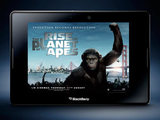 Rise of the Planet of the Apes, Blackberry playbook