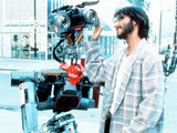 A scene from the movie Short Circuit in 1986