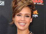 Jessica Alba attends the Los Angeles premiere of 'Spy Kids: All The Time In The World 4D'