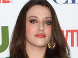 Kat Dennings attends the CBS, CW and Showtime TCA party held in Beverly Hills, California