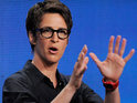 "Rachel Maddow says that she is ""really, really happy"" to have signed a contract extension with MSNBC."