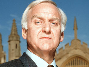 John Thaw as Inspector Morse