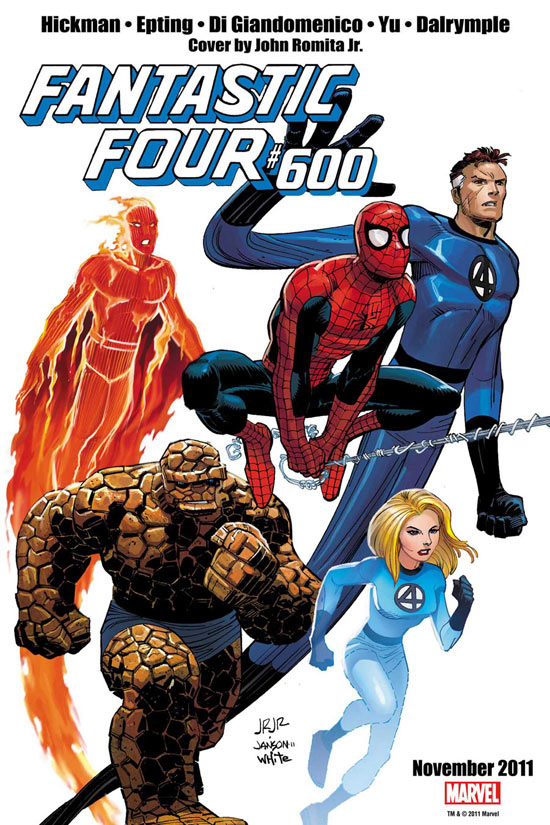 Fantastic Four Issue 600