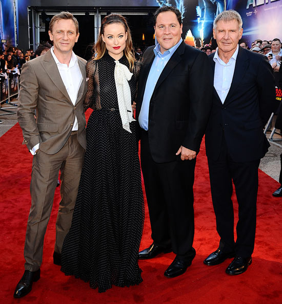 Cowboys and Aliens UK Premiere
