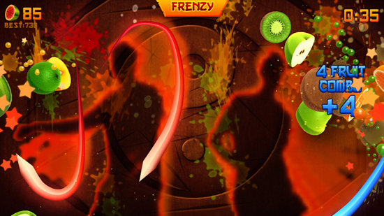 Fruit Ninja Kinect Gaming Review