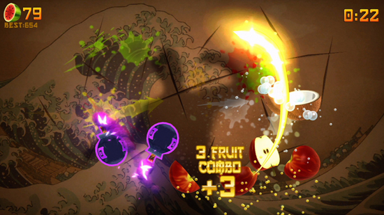 Fruit Ninja Kinect review